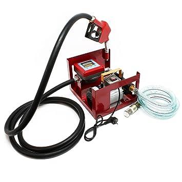 Öl Pistole Benzin Diesel Zapfpistole Durchflussmesser Dieselpumpe 45 L//min NEU