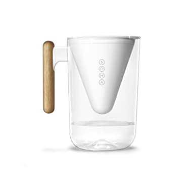 Soma 10-Cup Water Filter Pitcher