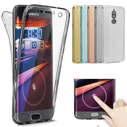 newest dea68 85a48 Amazon.com: Huawei Mate 10 Lite Case,[Full-Body 360 Coverage ...