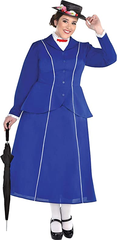 SUIT YOURSELF Disfraz de Mary Poppins para Mujer, Mary Poppins ...
