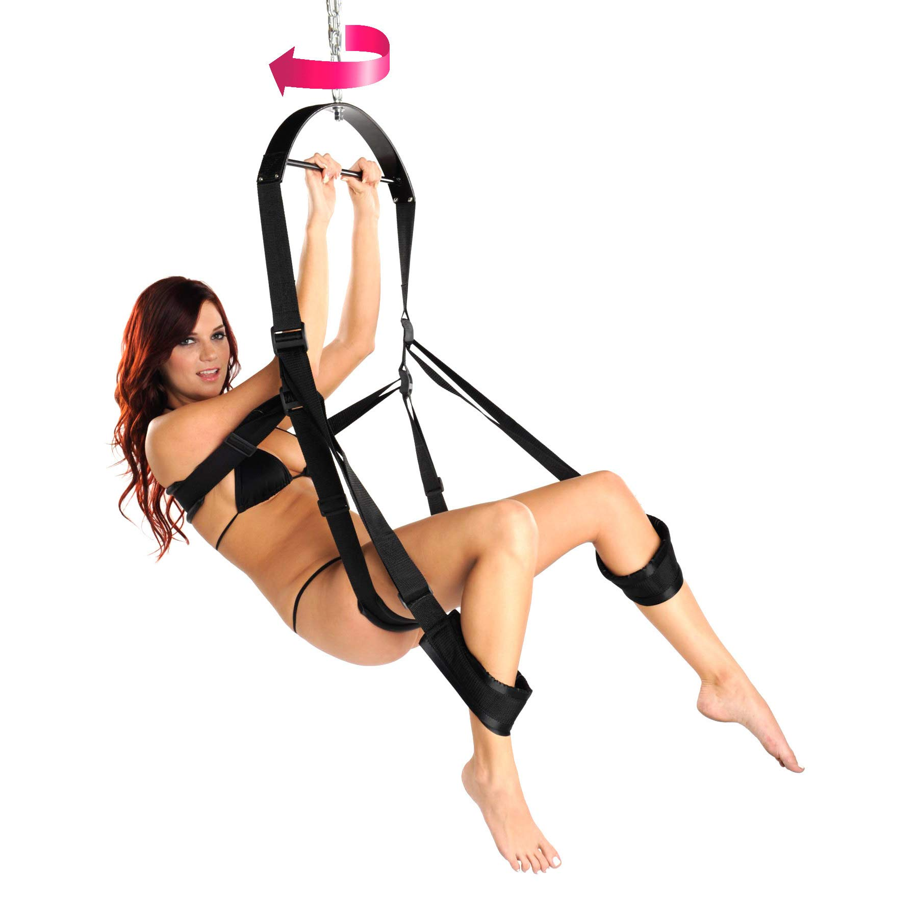 360 Degree Spinning Sex Swing by Trinity Vibes