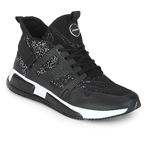 a7a8517c30f Furo (By Red Chief) Black Walking Sport Shoes for Men  Amazon.in ...