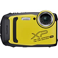 FUJIFILM FinePix XP140 Waterproof Digital Camera Yellow