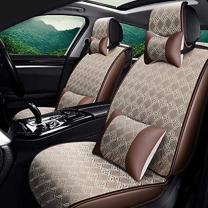 Fundas para asientos negra para volvo v40 asiento del coche referencia completamente