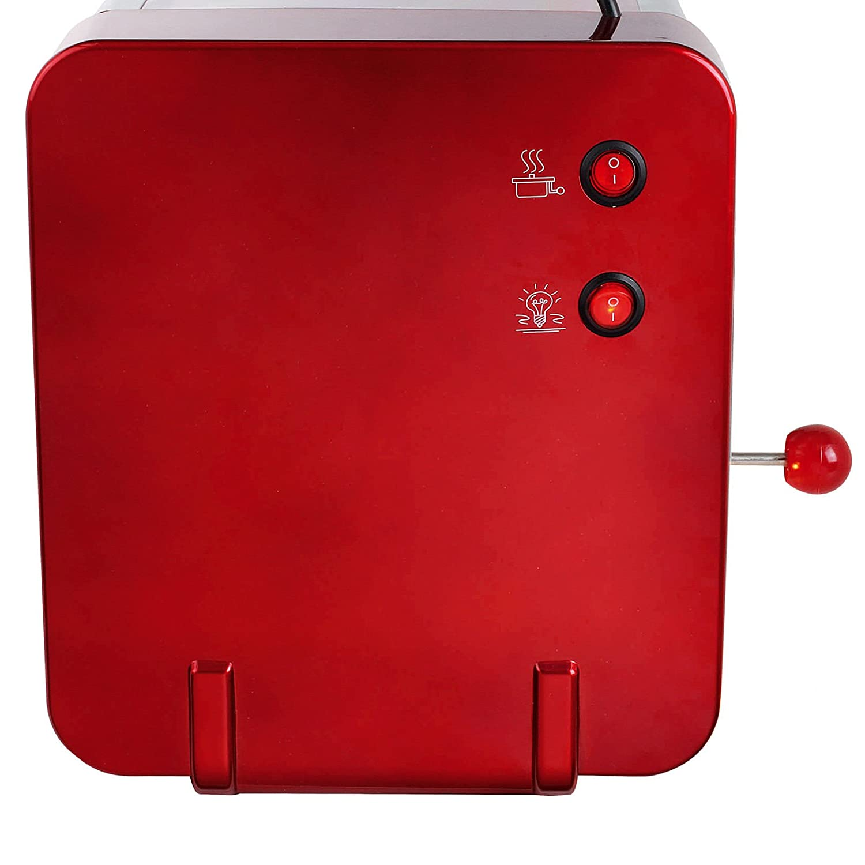 Maquina de hacer palomitas de maiz palomitero XXL acero sistema integrado de caldeo 6244: Amazon.es: Hogar
