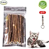 Handfly Catnip 100% NATURE 10 Sticks-Our coveted natural Matatabi Chews are an ideal cat toy