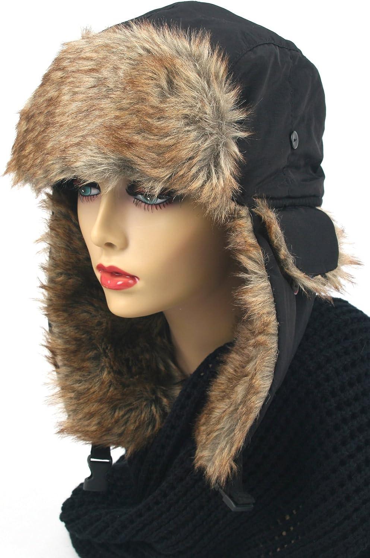 Pop Fashionwear Womens Trapper Winter Ear Flap Hat P136