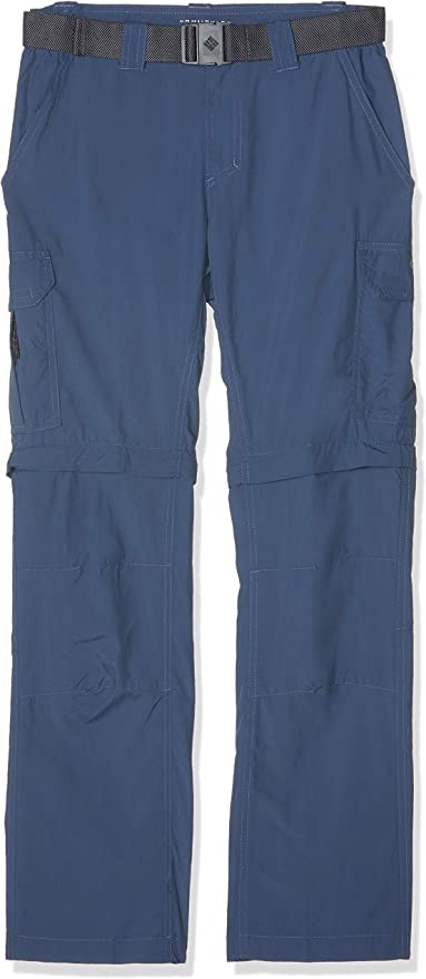 TALLA 32W / 32L. Columbia Silver Ridge II pantalón Convertible