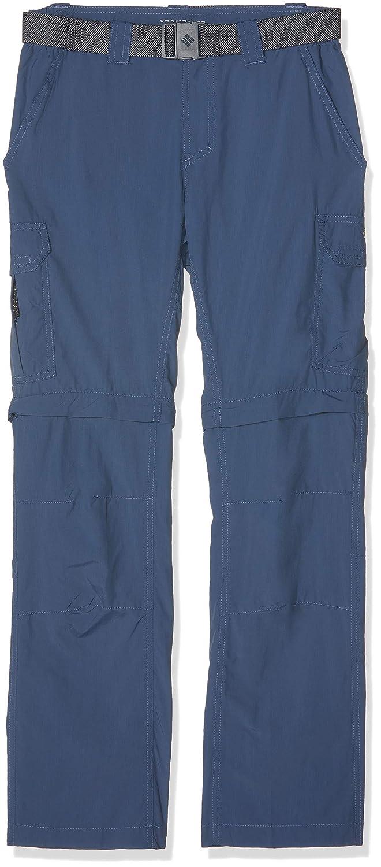 TALLA W40/L36. Columbia Pantalón de Excursionismo Convertible para Hombre, Walking Trousers Silver Ridge II