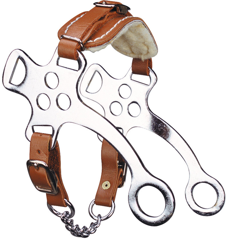 Hackamore acier chromé pour poney - Viomet Ekkia 3338025010382