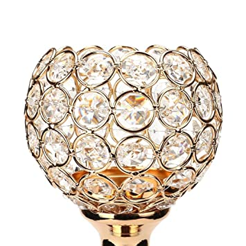 Kerzen Leuchter Deko Jaminy Kerzenleuchter Handmade Gold Moderne