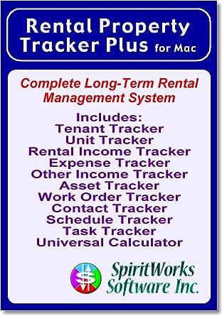Rental Property Tracker Plus for Mac [Download]