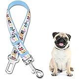 Adjustable Dog Seatbelt Heavy Dust Dog Collar Safety Dog Harness Pet Car Vehicle Seat Belt