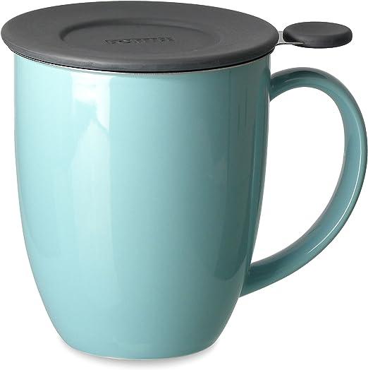 Amazon.com: Forlife Uni Taza con infusor de té y tapa, 16 ...