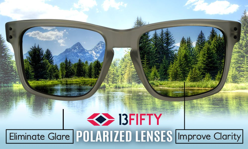 13Fifty Miami Women's Sunglasses, Cat Eye Glasses Brown & Green Fashion Frame, Green Gray Polarized Lenses by 13Fifty (Image #6)