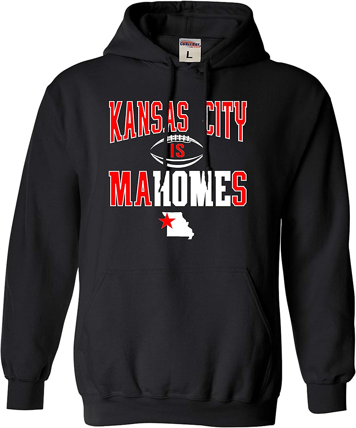 Go All Out Adult and Youth Kansas City is Mahomes Sweatshirt Hoodie