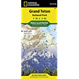 Grand Teton National Park (National Geographic Trails Illustrated Map, 202)