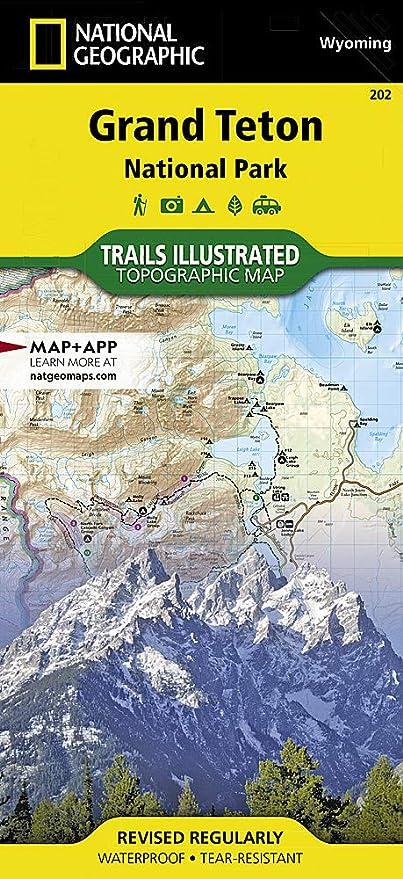 Amazon.com: Grand Teton National Park (National Geographic Trails ...