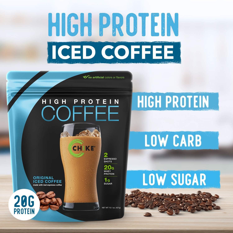 Alta Proteína café helado