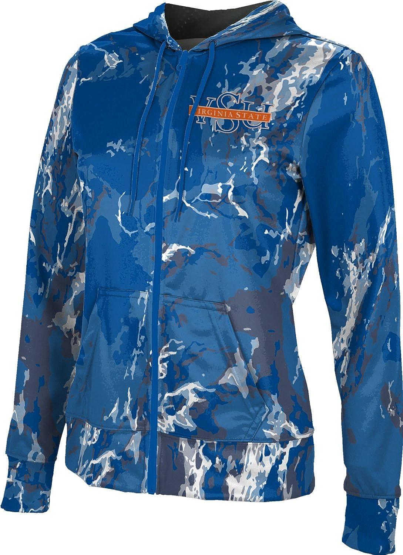 School Spirit Sweatshirt ProSphere Virginia State University Girls Zipper Hoodie Marble