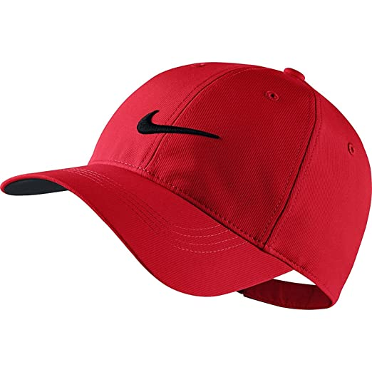 573fd642a39 Nike Golf Tech Adjustable Cap (Red)  Amazon.co.uk  Sports   Outdoors