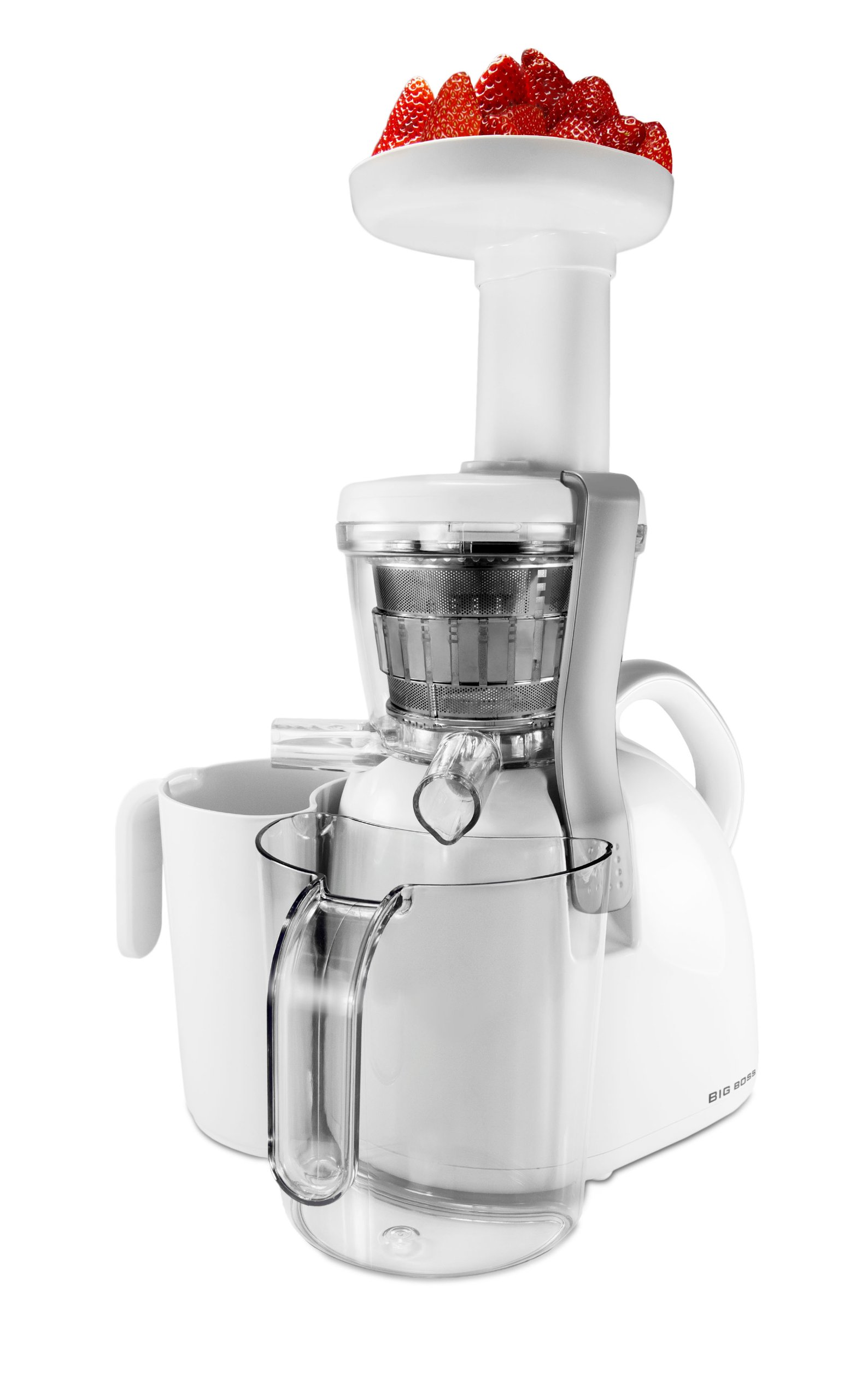 Big Boss 9192 Nutritionally Beneficial Slow Juicer, White