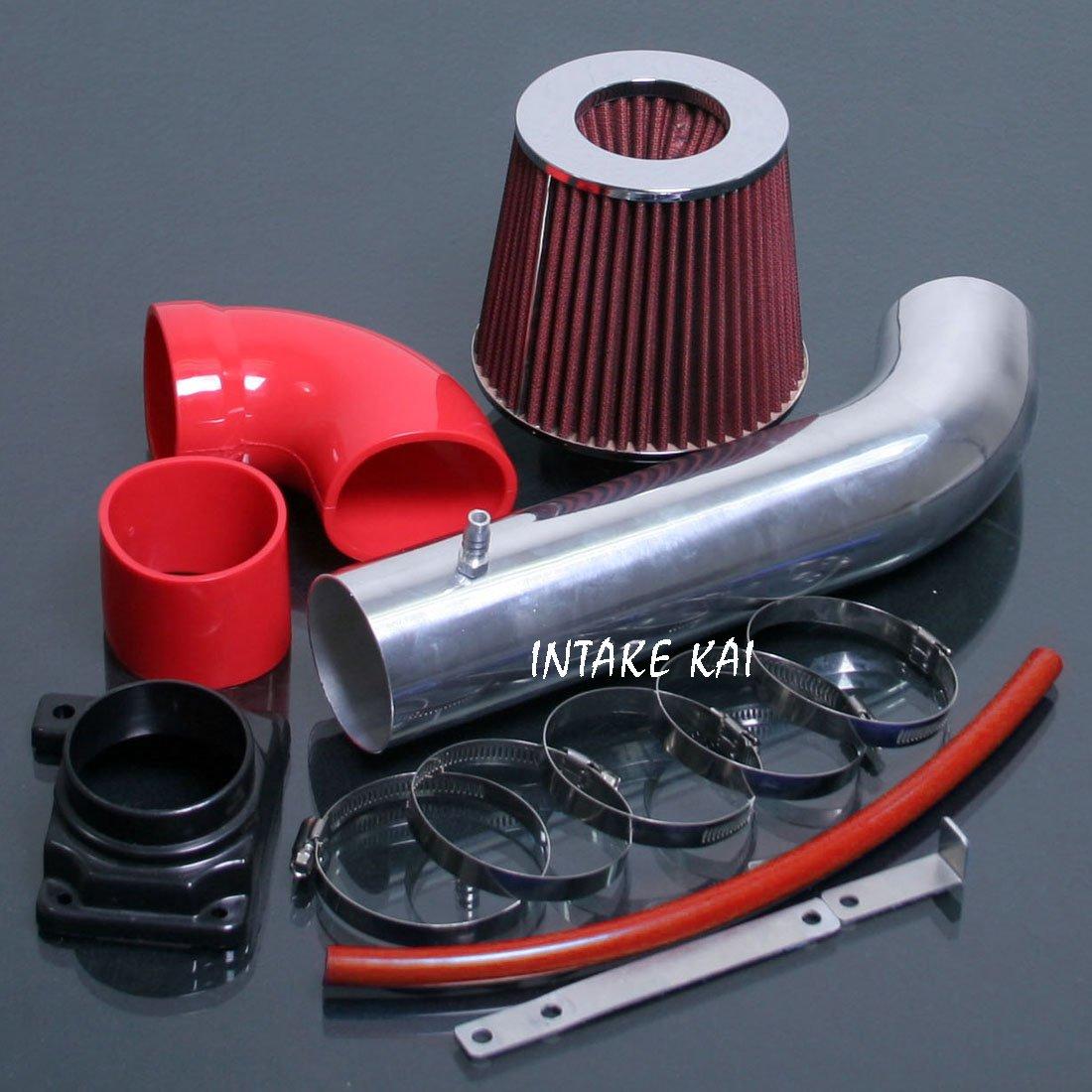 BLACK fit 2006-2011 MITSUBISHI ECLIPSE 2.4 2.4L COLD AIR INTAKE KIT SYSTEM