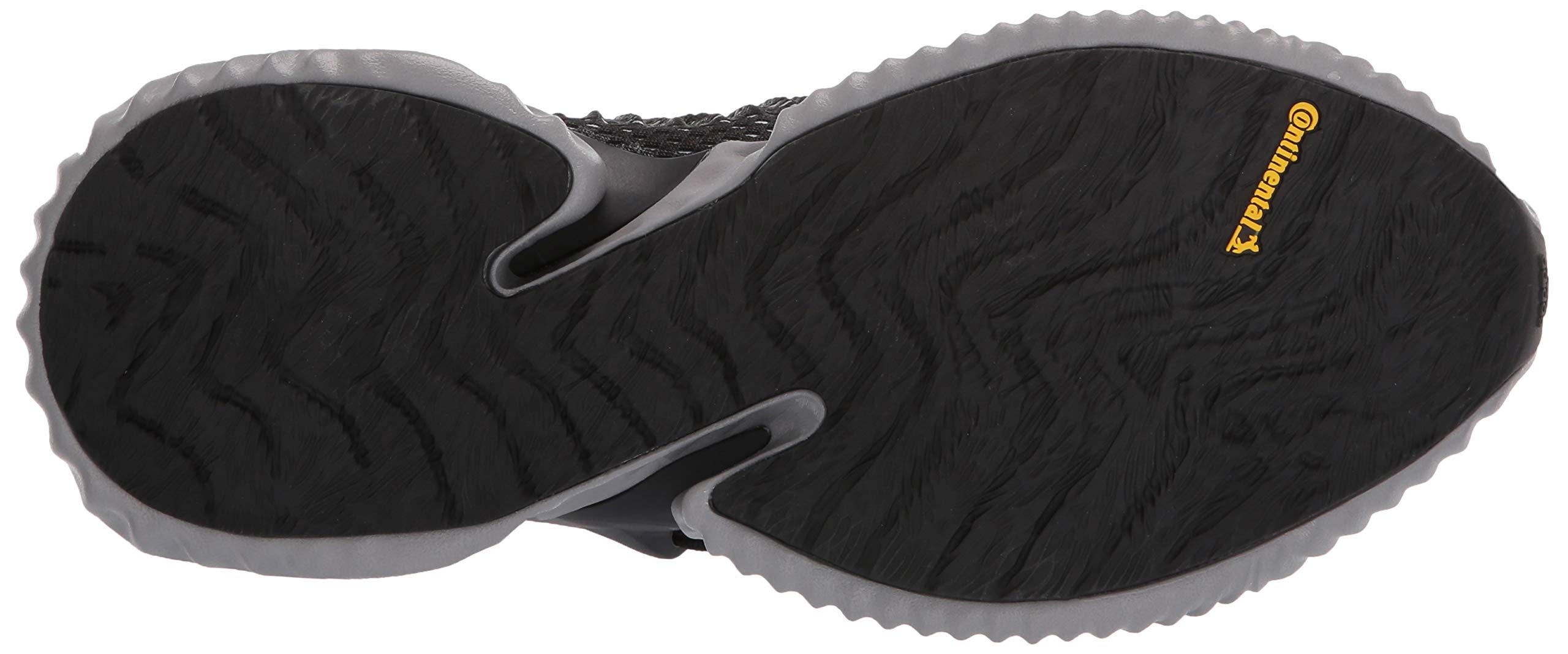 Adidas Kids Alphabounce Instinct, Black/White/Grey, 1 M US Little Kid by adidas (Image #3)