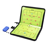 AGPtEK Football /Soccer Coach Magnetic board Winning strategy board with Marker pieces