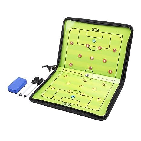AGPTek Carpeta táctica para entrenador de fútbol con accesorios ...