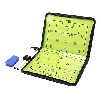 AGPTek Carpeta táctica para entrenador de fútbol con accesorios: Amazon.es: Deportes y aire libre