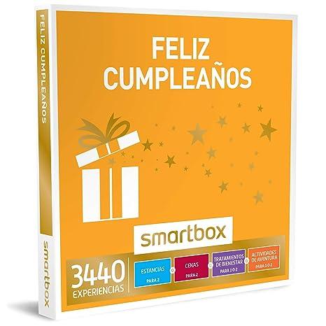 Smartbox - Caja Regalo -SBX - Feliz CUMPLEAÑOS - 3440 experiencias como escapadas, masajes, cenas Gourmet o Actividades de Aventura
