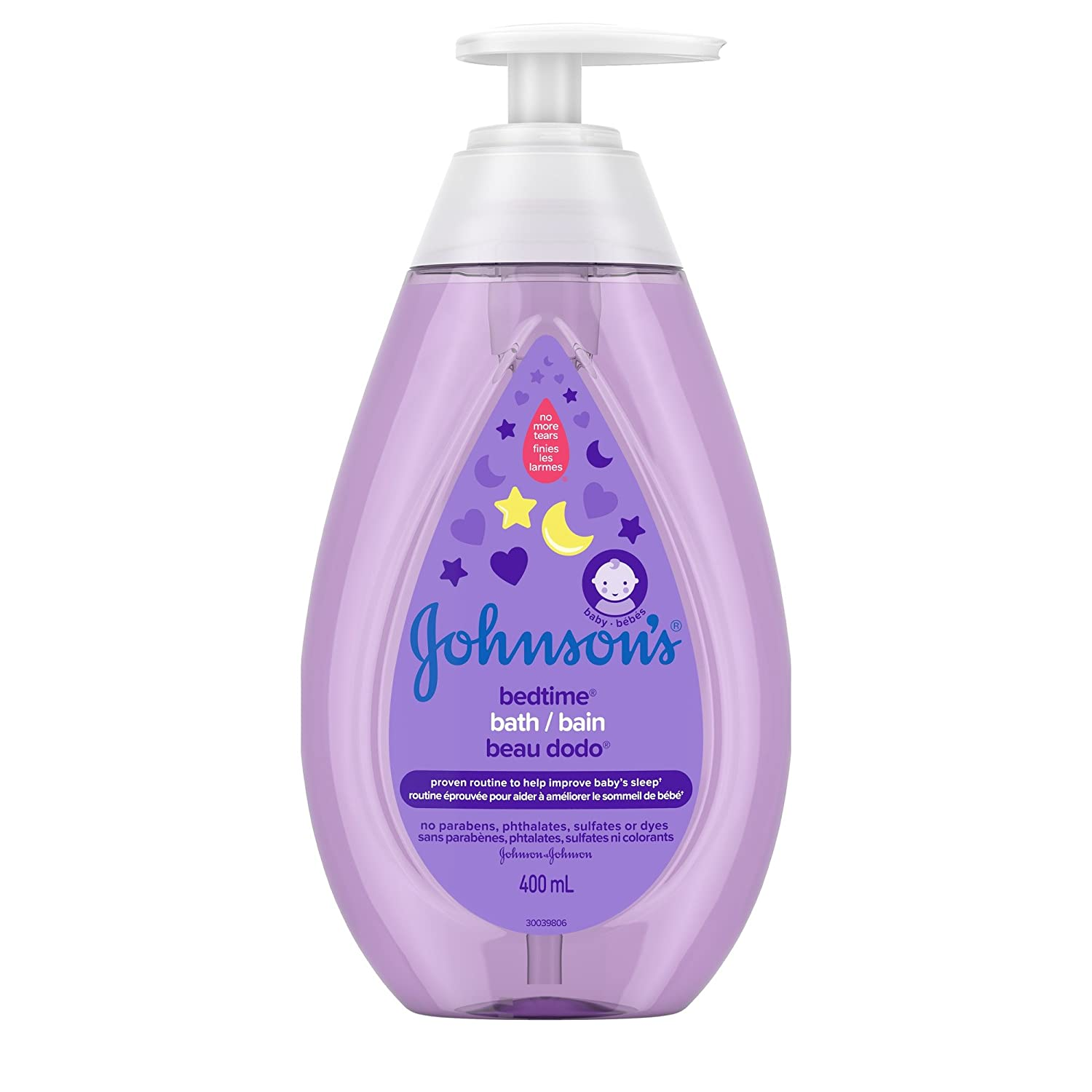 Johnson's Baby bedtime bath wash, baby wash and cleanser, 400ml Johnson and Johnson