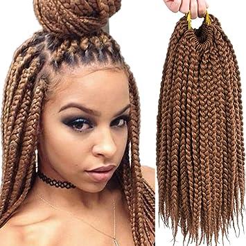 Amazon.com : VRHOT 6Packs 12\'\' Box Braids Crochet Hair Small ...
