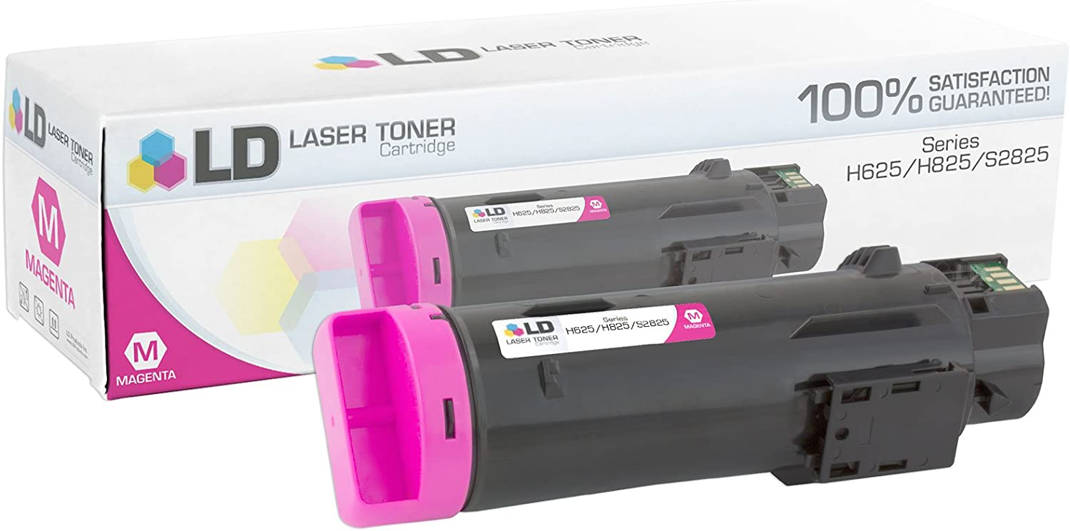 LD Compatible Toner Cartridge Replacement for Dell 593-BBOY 5PG7P (Magenta)