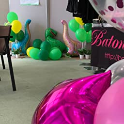 Amazon 誕生日 飾り付け セット ピンク バースデー アルミ バルーン 装飾セット ハンドポンプ 両面テ ピンク 特大ハートスター風船レーション ピンク 風船 バルーン おもちゃ