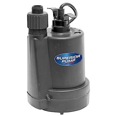 Superior Pump 91250 ¼ HP Submersible Utility Pump