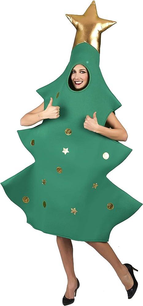Vegaoo - Disfraz árbol de Navidad 3D Adulto - Única: Amazon.es ...