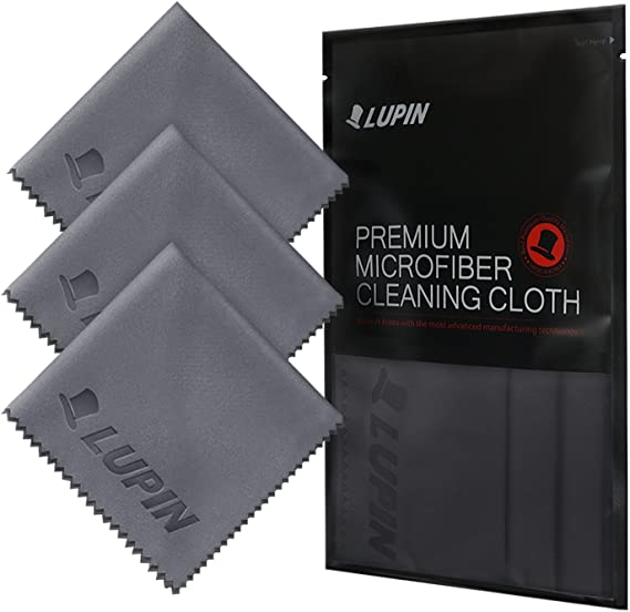 Microfiber Cloth 1 STREAK FREE Lint Free Individually Wrapped Free Gift
