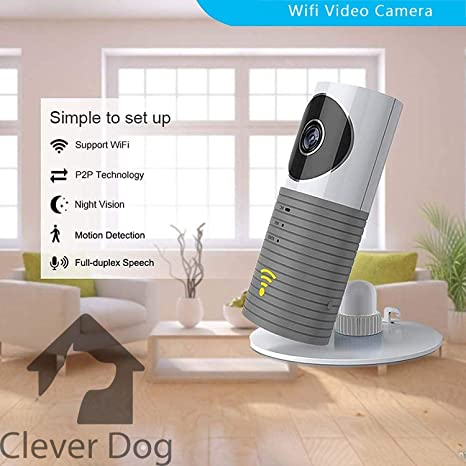 Clever Dog - Cámara inteligente, cámara de seguridad, sistema de