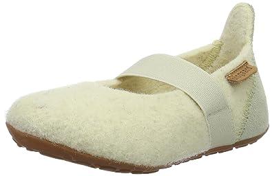 Bisgaard Unisex-Kinder Wool Basic Slipper, Pink (91 Rosa), 33 EU