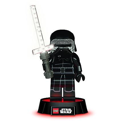 Amazon Com Lego Star Wars Kylo Ren Led Desk Lamp Toys Games