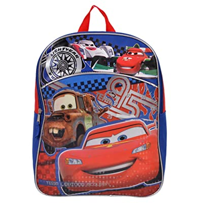 Cars 15 Inch School Bag Backpack for Kids durable service
