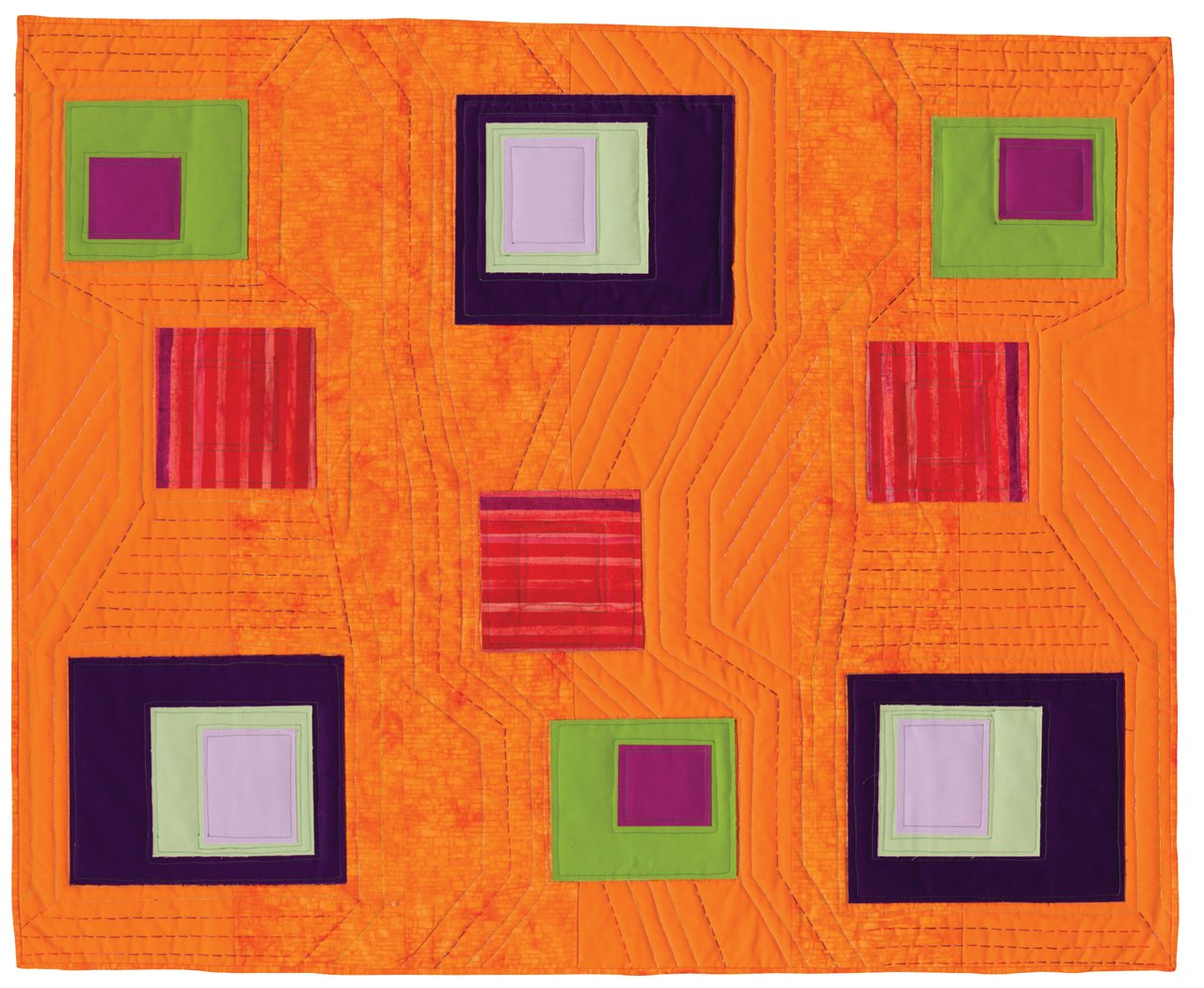 Fast-Piece Applique: Easy, Artful Quilts by Machine by Martingale
