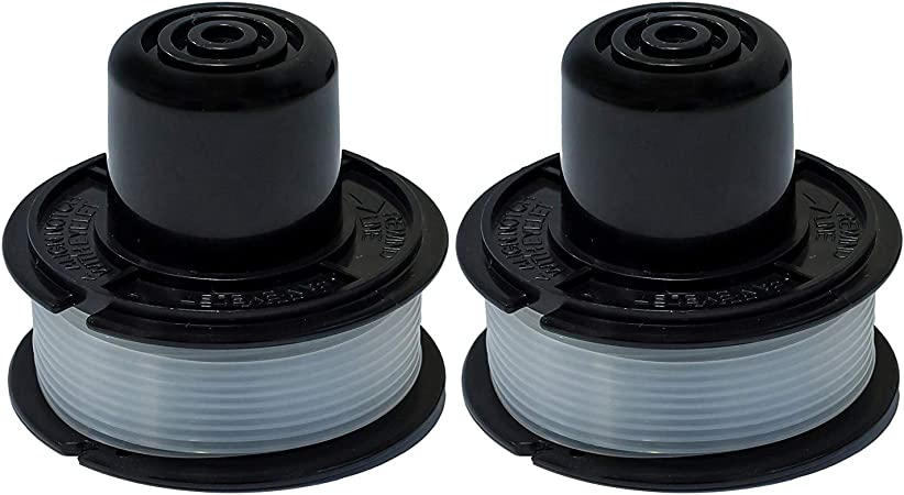BLACK /& DECKER RS-136 REPLACEMENT TRIMMER SPOOL ST1000 ST400 ST300 ST200 ETC 100 pieces