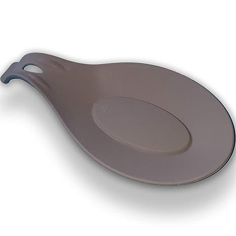 Amazon.com: Cuchara de reposo SADARBA-Silicona para cocina ...
