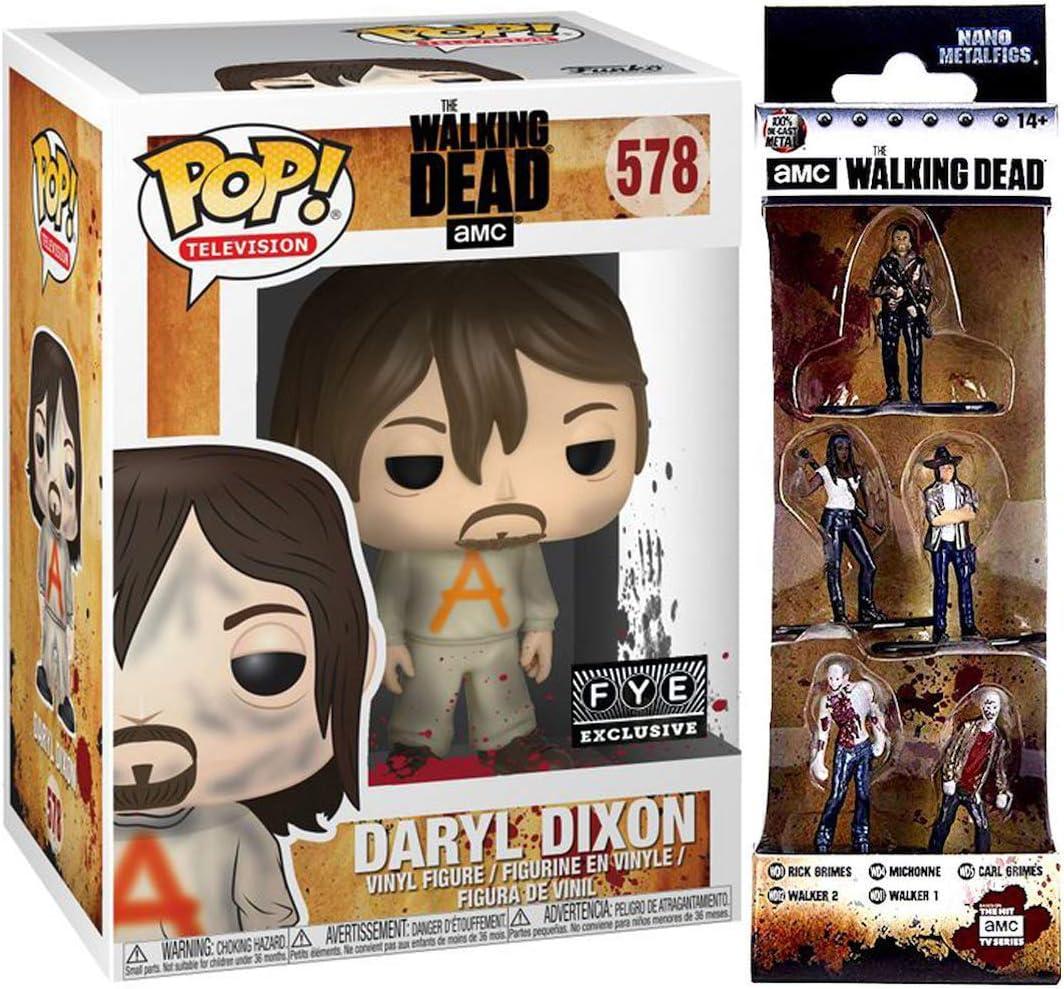 The Walking Dead Negan /& Carl Grimes 2 pack Pop New in stock Exclusive