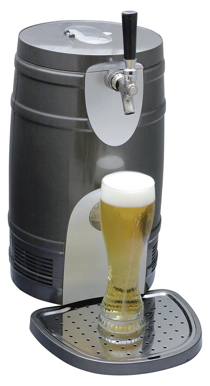 Koolatron KTB05BN 5-Liter Beer Keg Chiller, Silver