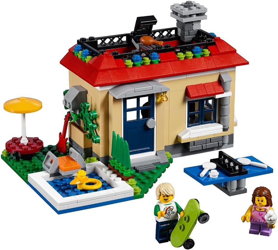 LEGO Creator Modular Poolside Holiday 31067 Building Kit (356 Piece)