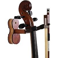 WOGOD Violin Hanger Home and Studio Wall Hanger for Violin or Viola.Made of Hardwood (Sapele)